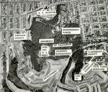 Forest Knolls site in 1958