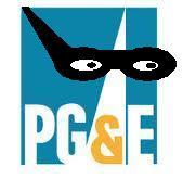 pg&e logo bandit
