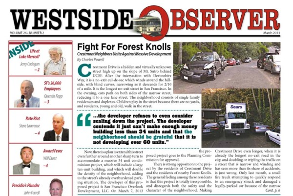 westside observer march 2013