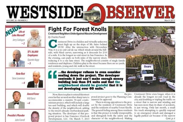 westside observer march 2013
