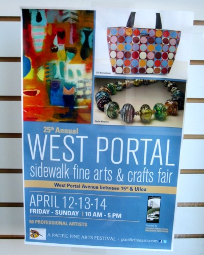 west portal sidewalk fine arts and crafts fair 2013