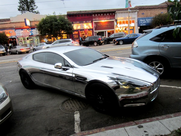shiny aston martin 2