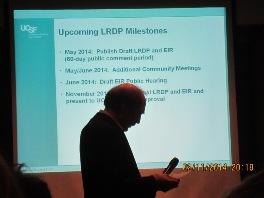 UCSF Feb 2014 meeting for LRDP 1