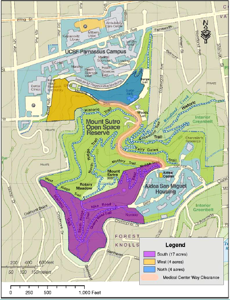 UCSF Revised Plan Map