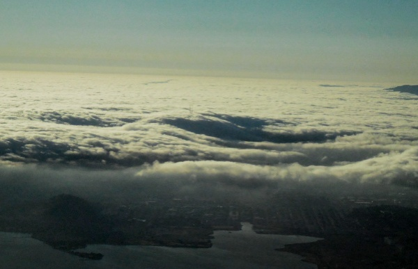 San Francisco dreaming beneath its fog