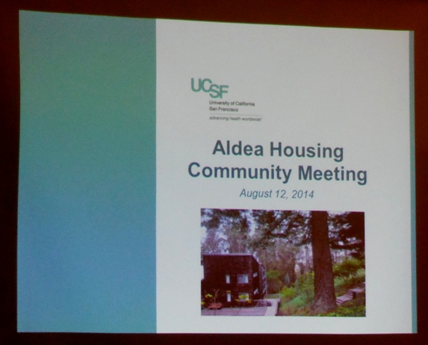 UCSF aldea presentation using pic from Forest Knolls website