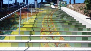 lincoln park steps 1 - san francisco - by tony holiday