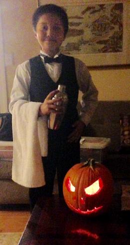 bartender - halloween 2015