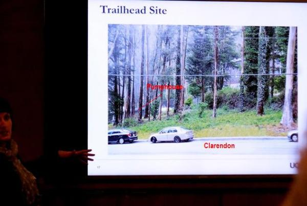 clarendon trail head site now