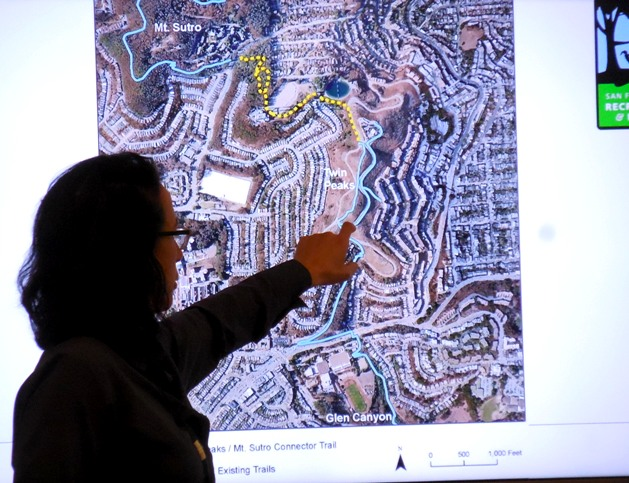 lisa wayne shows planned trail system